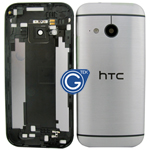 HTC One Mini 2 (M8 Mini) Rear Housing with Side Button in Grey