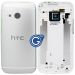 HTC One Mini 2 (M8 Mini) Rear Housing with Side Button in Silver