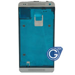 HTC One Mini,HTC M4 601e LCD Frame / Front Frame in Silver