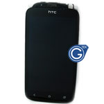 HTC One S Complete LCD With Frame in Black