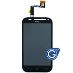 HTC One SV Complete LCD with digitizer in black