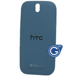 HTC One SV back cover blue