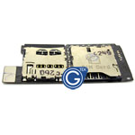HTC One SV sim card and memory card flex