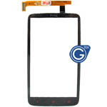 HTC One X+ Digitizer in black