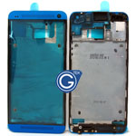 HTC One,HTC M7 LCD Metal Frame Blue