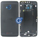 HTC One,HTC M7 Rear Housing with Side Button in Black