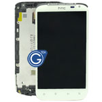HTC Sensation XL G21 LCD  Complete LCD with Frame in White