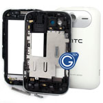 HTC Wildfire S G13 Complete Housing in White