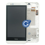 HTC Desire 510 Complete LCD with Digitizer and Frame in White