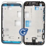 HTC incredible S G11 LCD Metal Frame Silver