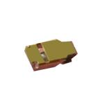 Genuine Huawei Mate 20 Pro Dual Sim (LYA-L29C) - Locking Cover / Snap Spring f. Antenna - Part no : 14241454