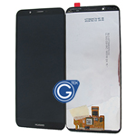 Huawei Honor 7C Complete LCD and Digitizer in Black-OEM