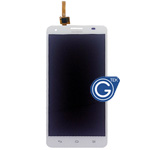 HuaWei G750 Complete LCD with Digitizer in White