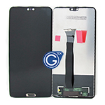 Huawei P20 Complete LCD and Digitizer in Black-OEM