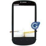 Huawei U8850 Vision  Digitizer with Frame in Black