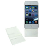 Two Piece Mobile Phone stand white