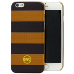 iPhone 6S/6 MK Stripe back case in Black