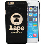 iPhone 6S/6 Monkey face Case in black