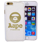 iPhone 6S/6 Monkey face Case in white
