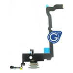 For iPhone Xs Max Charging Connector Flex Cable-White