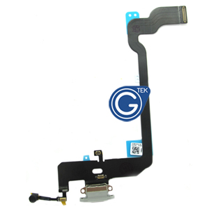 For iPhone Xs Charging Connector Flex Cable-White