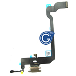 For iPhone Xs Charging Connector Flex Cable-Gold
