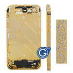 iphone 4s gold diamond swirl midframe-Replacement part (compatible)