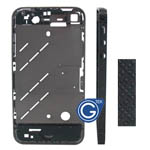 iphone 4s matt black diamond midframe-Replacement part (Compatible)