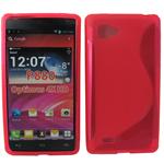 LG Optimus 4X HD P880 S Line Gel Case Red