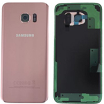 Genuine Samsung SM-G935F Galaxy S7 Edge Battery Cover in Pink Gold-Samsung part no: GH82-11346E