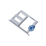 Samsung Galaxy J3 J330F SD Card holder in Blue/Silver