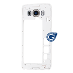 Samsung Galaxy J5 2016 SM-J510F Rear Chassis with Camera Cover in Gold