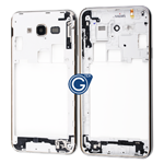 Samsung Galaxy J7 SM-J700 Rear Chassis Chrome Bezel with Side Buttons