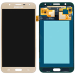 Genuine Samsung Galaxy J701, J7 Nxt, J7 Core lcd and touchpad in Gold - Part no: GH97-20904B/20946B