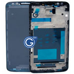 For LG D802 Optimus G2 Front Cover / LCD Frame in Black