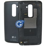 LG Optimus G2 D802 Battery Cover in Black