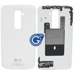 LG Optimus G2 D802 Battery Cover in White