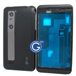 LG P920 Optimus 3D Complete Housing in black