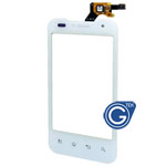 LG P999 Digitizer T-Mobile version in White