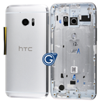 HTC 10 Rear Housing with Side Buttons in SIlver