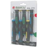 Baku BK-375 6pcs Precision Screwdriver Set - T2, T3, T4, T5, T6 and 1.7  for iphone and universal mobile phone (BK375 )