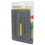 New BAKU BK-7293 Opening Tools screwdriver set for I-PHONE 7(the screw holes distribution of Iphone 7GS)