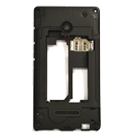 Genuine Microsoft Lumia 435 Middle Cover- Part no: 02507W1