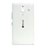 Genuine Microsoft Lumia 640 XL Battery Cover in White- Microsoft part no: 02510P8
