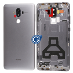Huawei Mate 9 Rear Housing with Side Buttons in Grey