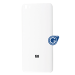 Xiaomi Mi 5 Battery Cover in White - High Quality