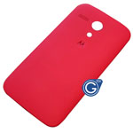 Motorola Moto G Battery Cover in Vivid Red