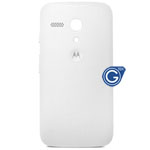 Motorola Moto G Battery Cover in White