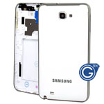 Samsung Galaxy Note N7000,i9220 Rear Housing in White