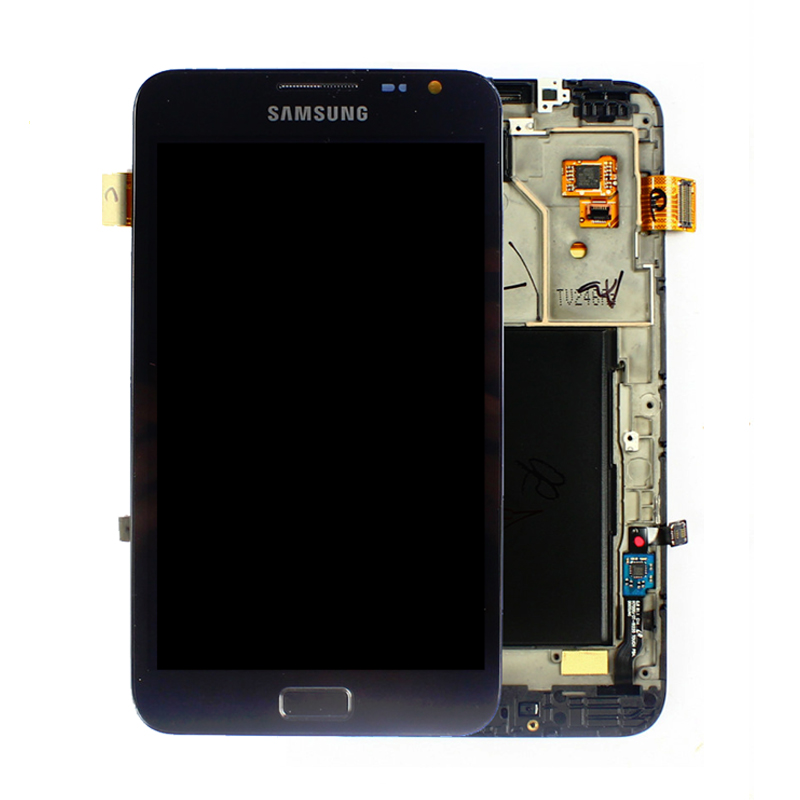 Samsung Galaxy Note Black Lcd +Touch GT-N7000, i9220 Part Number: GH97-12948A (Refurbish as new)